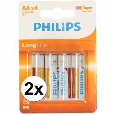 Voordelige philips aa batterijen