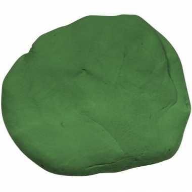 Zakje met groene boetseerklei