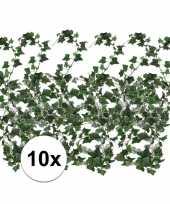 10x klimop slinger groen hedera helix 180 cm