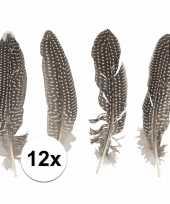12x fazanten veertjes