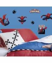 22 muurstickers van spiderman