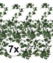 7x klimop slinger groen hedera helix 180 cm