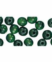 Armbandjes rijgen 52 groene kralen