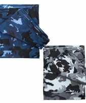Camouflage afdekzeilen 6 x 3 5 m