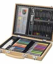 Complete kleurset in koffer