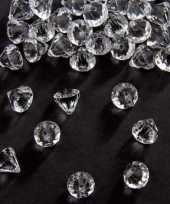 Decoratie diamantjes transparant 12 mm 10131549