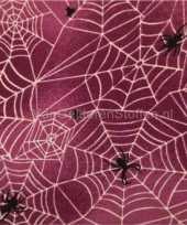 Decoratie stof met halloween print 10035440