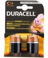 Duracell alkalnine batterijen cr14 2 stuks