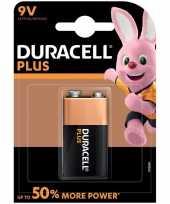 Duracell v9 plus batterij alkaline lr61 9 v