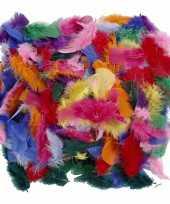 Gekleurde decoratieveren 50 gram