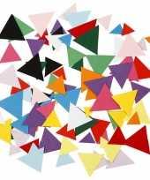 Gekleurde knutsel driehoekjes 180 gram