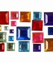 Gekleurde mozaik stenen 15 gram 10071382