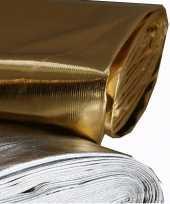 Gouden stof polyester