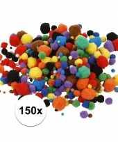 Hobby pompons 15 40 mm 150 st