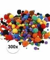 Hobby pompons 15 40 mm 300 st