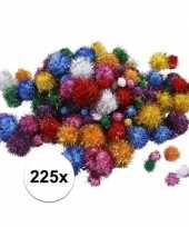 Hobby pompons 15 40 mm glitterkleuren 10107820