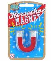 Hoefijzer speelgoed magneten 8 cm