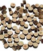 Houten boomschijfjes klein 10116657