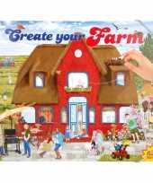 Jongens stickerboek boerderij thema