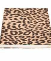 Kaftpapier panterprint luipaardprint 200 cm