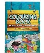 Kinderspeelgoed oceaan dieren thema kleurplaten a4 formaat kleurboeken tekenboeken