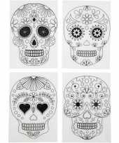 Krimp hobby folie day of the dead 4 vellen