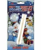 Kunst sneeuw zelf aanmaken
