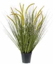 Kunstplant groen gras sprieten 70 cm