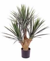 Kunstplant yucca leliepalm 90 cm voor buiten gebruik