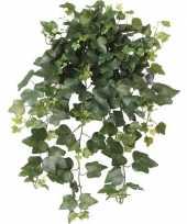 Nep planten groene hedera helix klimop weerbestendige kunstplanten 65 cm
