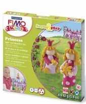 Oven verhardende klei pakket prinsessen