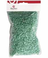 Papieren deco gras groen 50 gram