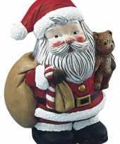 Piepschuimen kerstman 17 5 cm