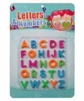 Schoolbord letters magnetisch 26 stuks
