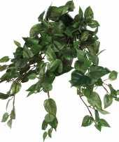 Scindapsus drakenklimop kunstplant groen l45 x b25 x h25 cm hangplant