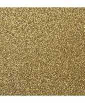 Scrapbooking papier goud glitter