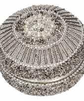 Tandendoosje zilver oriental 8 cm 10084650